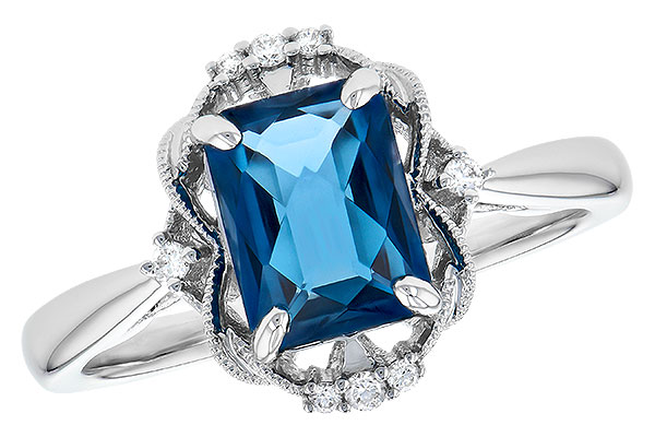 E319-03574: LDS RG 1.70 LONDON BLUE TOPAZ 1.76 TGW