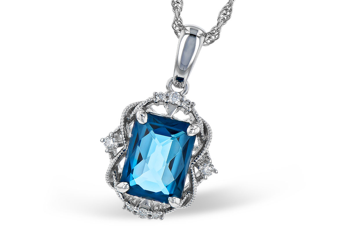 F319-03574: NECK 1.68 LONDON BLUE TOPAZ 1.73 TGW