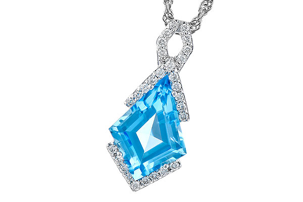 L319-02637: NECK 2.40 BLUE TOPAZ 2.53 TGW